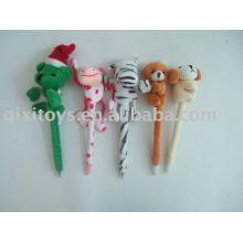 school stuffed animal plush ballpen