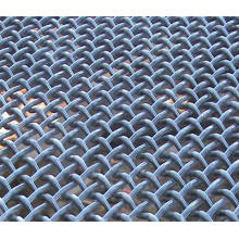Écran de tamisage minéral plat / tamis à maille serti