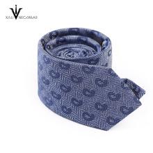 Laço de seda natural de 100% China Jacquard de seda tecida gravata