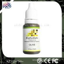 Bunte Permanent Make-up-Tinte Pigment 1/2 OZ Für Augenbraue Make up