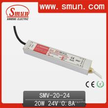 Piloto LED electrónico a prueba de agua 20W 24V 0.8A
