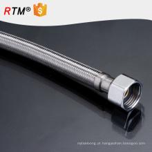 B17 alta qualidade flexível mangueira de metal higiênico 304 mangueira trançada de aço inoxidável