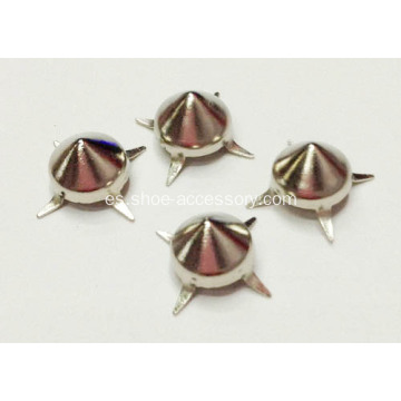 Prong Studs, Punk Rock Nailheads Brads, Prong Brads Metal Cuero
