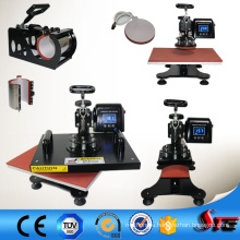 6 in 1 Combo Heat Press Printing Machine for Sublimation Products