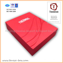 Red Luxury Cardboard Gift Packaging Box for Food