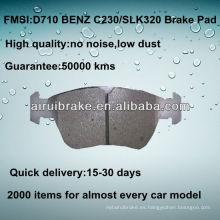 D710 NO NOISE pastillas de freno de disco de metal bajo para BENZ C36 / E300 / SLK230 / SLK320