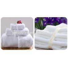 2015 serviette de bain de qualité supérieure blanc fine