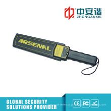Detector de metais portátil de tribunais / prisões com grande área de detecção