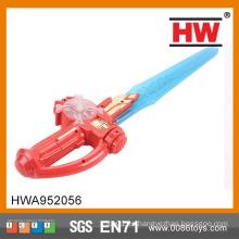 Divertido 61CM de plástico espada flash de juguete niños espada