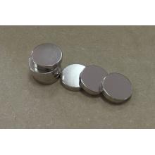 Imanes de artesanía Disco de neodimio con recubrimiento de níquel