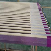 Piezas de máquina de fabricación de papel de cubierta de caja de succión de cerámica