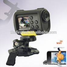 IShare S10W Full HD cámara de deporte 1080P WiFi 170 grados de acción de gran angular cámara de vídeo digital