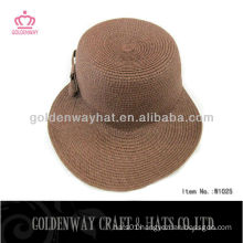 2013 Ladies sun hat with visor (paper straw)
