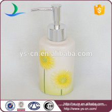 YSb40004-04-ld Ceramic tooth brush holder bathroom accessory liquid soap dispenser