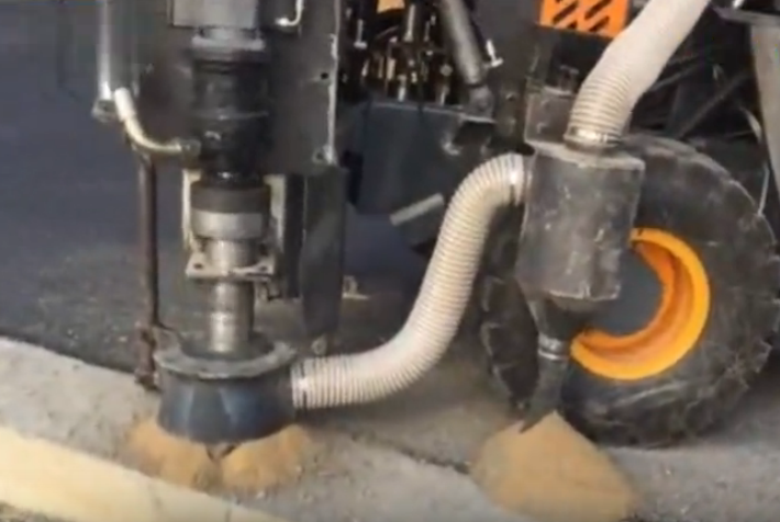 Drilling and dedusting All-in-one machine