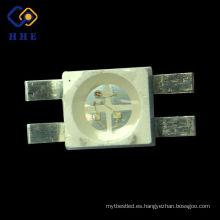 Nuevo diseño !!! super brillante 6028 rgb SMD LED tricolor (rojo-verde-azul) diodos led smd