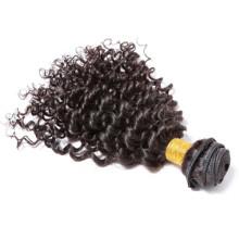 Großhandel Hersteller Haar Erweiterungen Indien, Afro versauten lockiges 100 % indisches Echthaar
