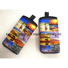 Full Color Printing Neoprene Phone Case, Neoprene Cell Phone Case