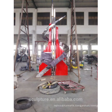 Modern Large Famous Stainless Steel Arts Abstract Sculpture for outdoor decoration