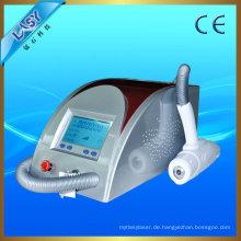 Tragbare ND Yag Lazer Haarentfernung Maschine