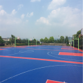 Enlio Basketball Outdoor PP Sport Flooring