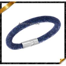 Bracelet élégant en bijoux fantaisie Bracelets et bracelets magnétiques en argent moulés à la main Femmes (FB0131)