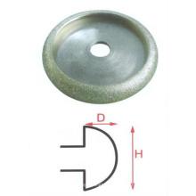 Venda quente úmido híbrido diamante almofadas de polimento vários grãos pad estilo único borda do lápis rebolos