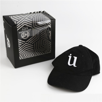 OEM Printing Paper Packaging Baseball Cap Display Box