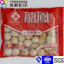 Мешок для упаковки пищевых продуктов с низкой температурой