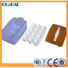 Papeleras de plástico para el almacenamiento de huevos