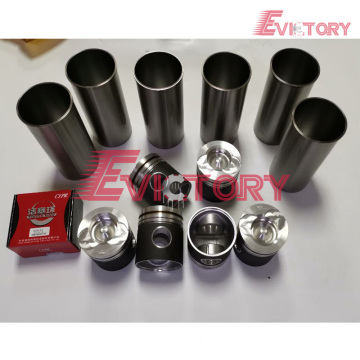 VOLVO spare parts D6E cylinder liner sleeve kit