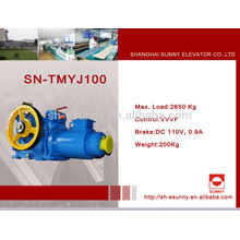 Elevador de 500KG de VVVF máquina de tracción