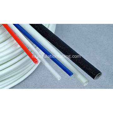 Silicone Resin Coated Braided Fiberglass Sleeve