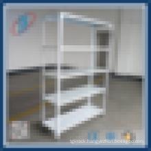 Light duty metal storage shelving racks
