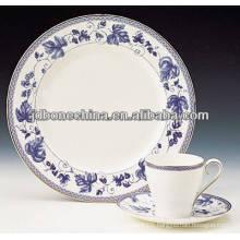 full decoration fine bone china dinner set made in china