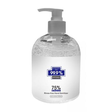 500ML desinfectante de manos Wateless AntiBacterial Hand Gel