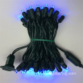 50 Light Christmas Light Set couleur bleue