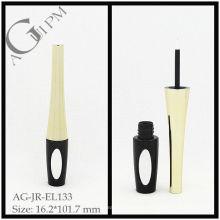 Especial forma de delineador de ojos tubo con espejo/delineador de ojos envase con espejo AG-JR-EL133, empaquetado cosmético de AGPM, colores/insignia de encargo