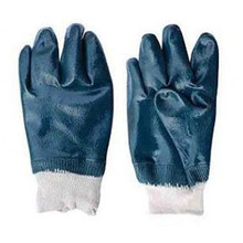 Cotton Jersey Nitrile Full/Half Coating Glove