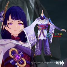 Genshin Impact Raiden Shogun Cosplay Kostüm