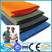 Fabrication à bas prix en tissu polyester en polyester pour uniforme scolaire