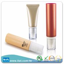 Tubo de cosmética flexível LDPE de venda quente para creme de tonificação de pele