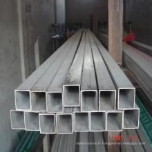 Tuyau d'acier rectangulaire d'échafaudage en acier galvanisé
