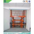 Plataforma elevadora de tijera hidráulica manual fija de 2.0t