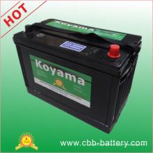 12V100ah Premium Quality Koyama Mf Bateria do veículo Bci 31A-800mf