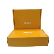 Matt Lamination Mailing Boxes Packaging Apparel Corrugated Subscription Shipping Mailer Box