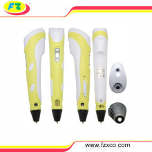 2016 Kids Birthday Gift Plastic 3D Drawing Pen Printing with Screen