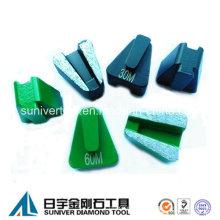 Scanmaskin Beton-Segment Metallbindung Schleifen Diamant