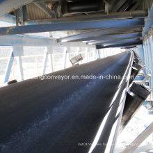 Correa transportadora de cable de acero resistente al desgarro / Correa de cable de acero Correa transportadora / Correa transportadora de caucho