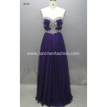 Sleeve Elegant Style Evening Prom Dress